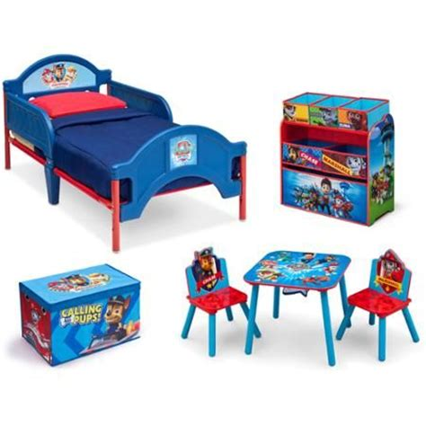 paw patrol desk chair nick jr paw patrol room in a box with bonus chair