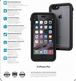 Image result for iphone 6s plus full specification. Size: 151 x 160. Source: catalystcase.eu
