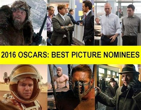 Oscar Invades Blvd Again by From 2016 Oscar Nominees For Best Picture