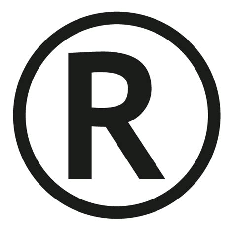 trade symbol do trademark and registered symbols belong in life science