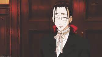 Grell sutcliff known as madam red s butler grell has long brown hair