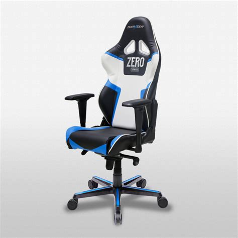 racing gaming desk chair oh rv118 nbw zero racing series gaming chairs