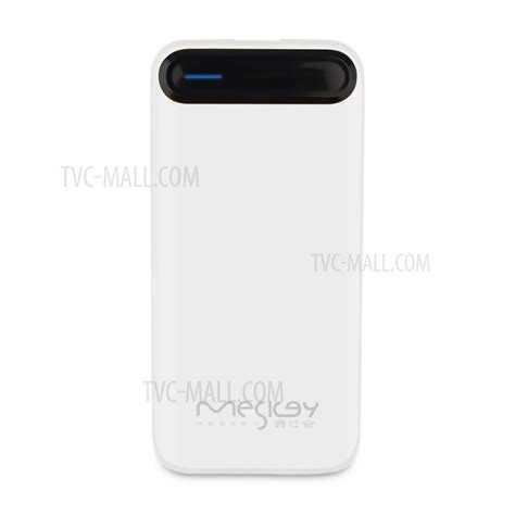 Casing Powerbank 10000mah Real Capacity 6000mah Xiaomi Thin meskey ms p21 fresh color 10000mah power bank mobile power for iphone 7 samsung s8 white