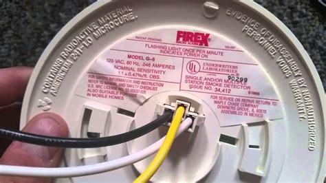 firex smoke detector firex g 6 smoke detectors
