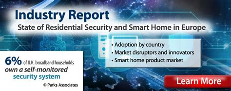 parks associates iot market research consulting firm