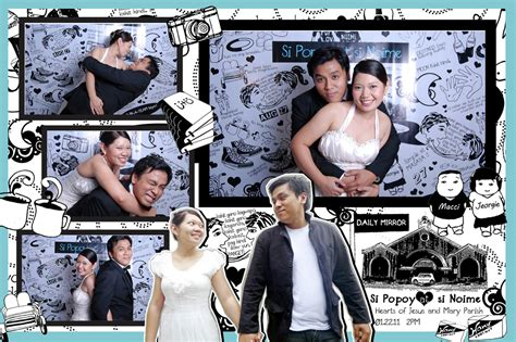 photo booth layout design for debut photobooth sle layouts bennmonyography 169