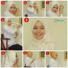 tutorial hijab untuk idul fitri tutorial pashmina untuk pesta dress kebaya
