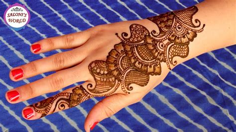 modern arabic henna mehndi designs for hands henna