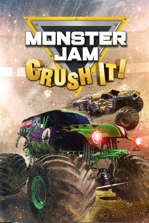 monster trucks jam games monster jam crush it objects giant bomb