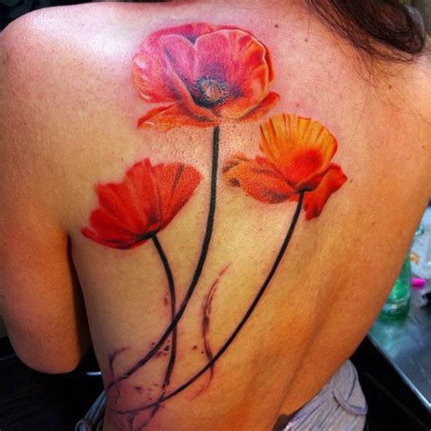 poppy tattoo designs poppy designs