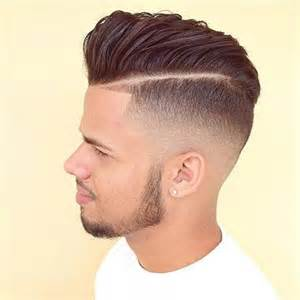 parting haircut how to style medium length hairs for men perfectly