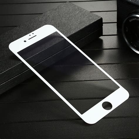Tempered Glass 4d Iphone 6 4 7 White Jete 1 bakeey 4d curved edge tempered glass with transparent
