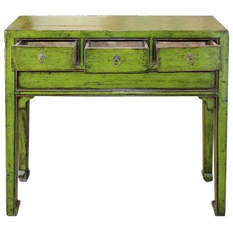 Green Console Table Lime Green Console Table For Sale At 1stdibs