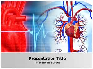 free cardiac powerpoint templates free powerpoint cardiovascular templates and backgrounds