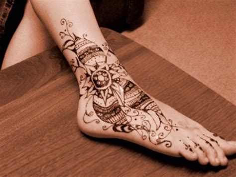 feet henna tattoos mehndi designs smashingcloud
