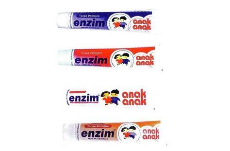 Pasta Gigi Enzim Tanpa Deterjen produk enzim enzim anak anak