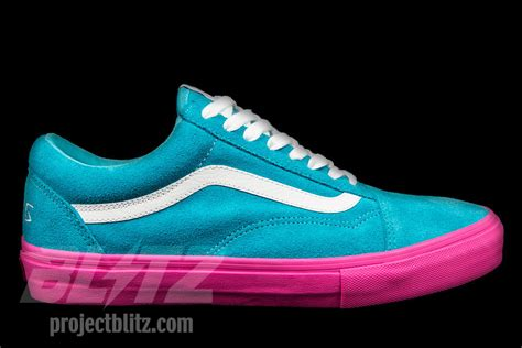 Vans Golf Wang Unisex by Vans Syndicate Skool Pro S Golf Wang Blue Pink Size 13