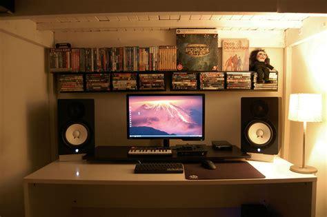 studio monitors for small room cool computer setups and gaming setups