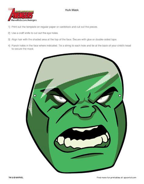 avengers mask template masques en papier the paper fr