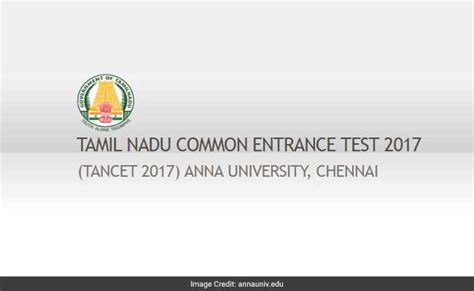 Tancet 2017 For Mba by Tancet Result 2017 Declares Mba Mca