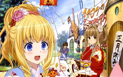 amagi brilliant park amagi brilliant park wallpapers backgrounds