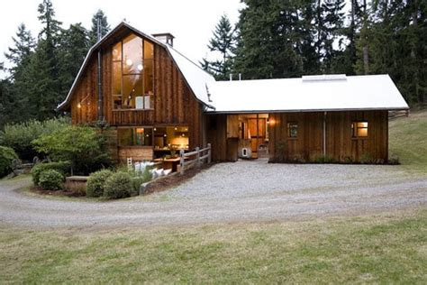 contemporary barn house by shed architect