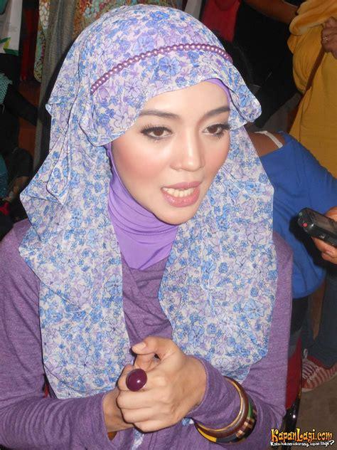 tutorial hijab paris nuri maulida gaya hijab modern ala nuri maulida tutorial pashmina by