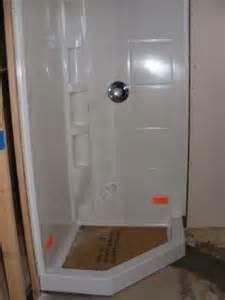 inspiring basement shower stall 6 basement corner shower