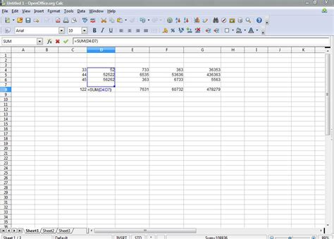 Spreadsheet Formulas by How To Show Formulas In Openoffice Calc Spreadsheet Cells