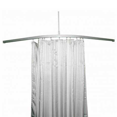l shaped curtain track curtain track l shape 2500x1300mm inc 3 x c supports