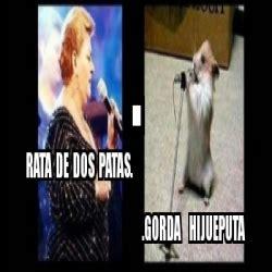 Rata De Dos Patas Meme - meme personalizado rata de dos patas