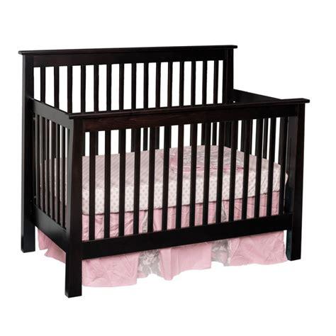 Crib Items by Shaker Convertible Slat Crib Amish Made Modern Crib