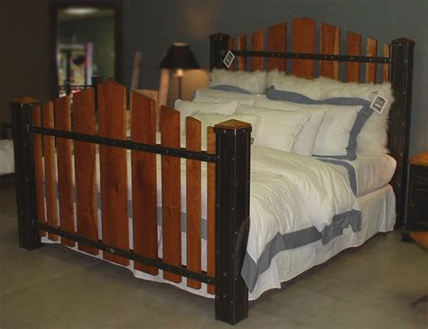 Handmade Iron Beds - custom king size iron and cherry wood bed the majestic by
