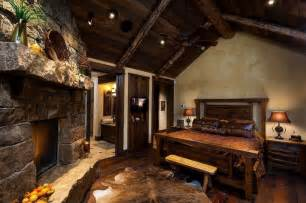 Cabin Themed Bathroom Rustic Master Bedroom My Perfect Home Pinterest