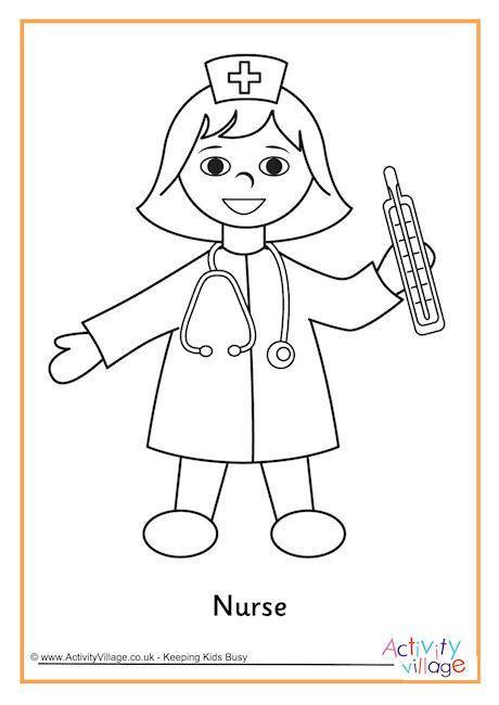 printable nursing images coloring book for nurses nurse coloring sheets pages