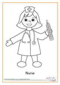 coloring book for nurses colouring page 2