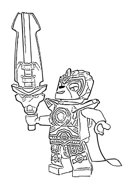 Free Coloring Pages Of Lego Chima Coloring Lego Chima