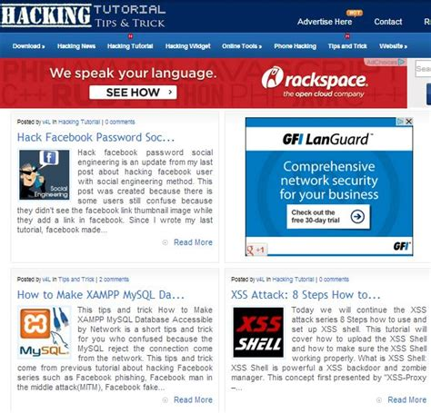 tutorial hack like facebook top 5 websites to learn how to hack like a pro