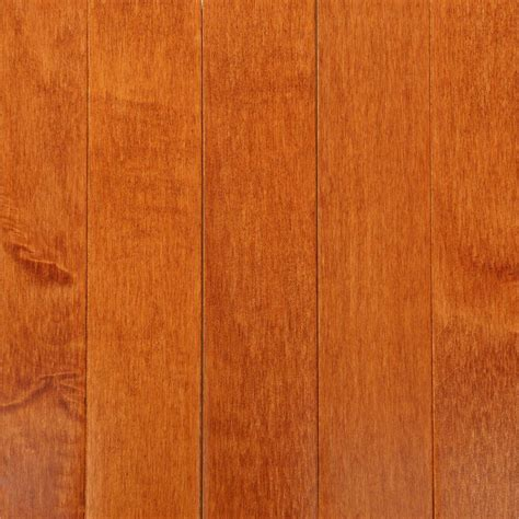 Maple Flooring Bruce Cinnamon Maple 3 4 In Thick X 2 1 4 In Wide X