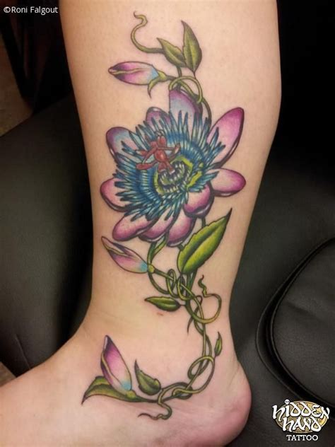 passion flower tattoo 392 best images about tattoos on