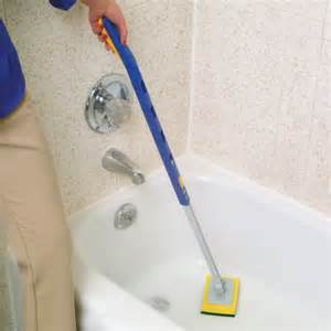 telescopic bathtub scrubber shower scrubber easy comforts