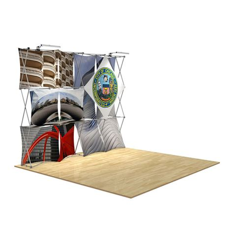 floor display 3d 4x3 3d snap floor display layout 5 impact displays