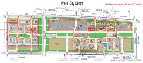 Fitness Gym Floor Plan by Wave Mega City Centre Sector 32 Noida Residential Project Propertywala Com