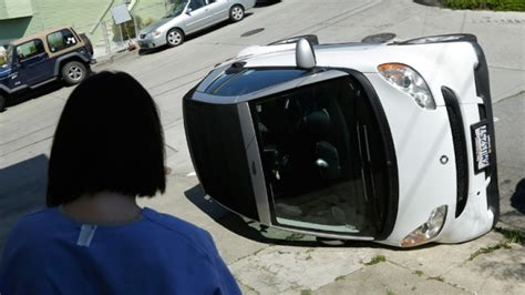 tipped smart cars san francisco search for suspects in vandalism of 4
