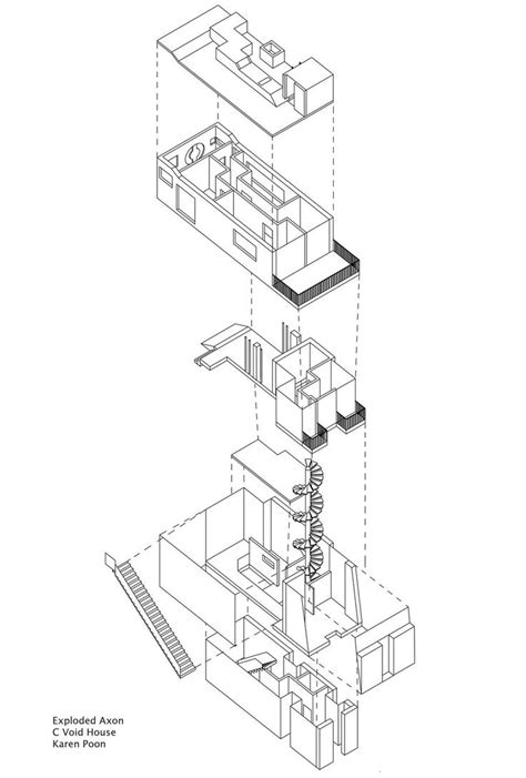 exploded floor plan 59 best plan section line drawing images on pinterest