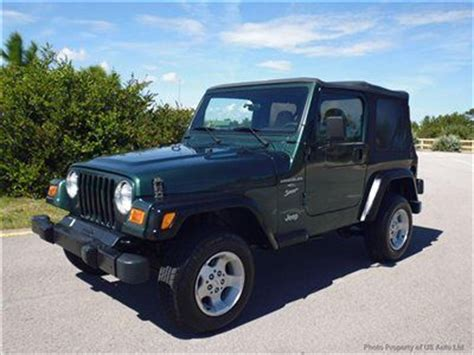 hayes car manuals 2001 jeep wrangler user handbook find used 2001 jeep wrangler sport 4x4 5spd florida jeep 4 0l free shipping alloys manual in