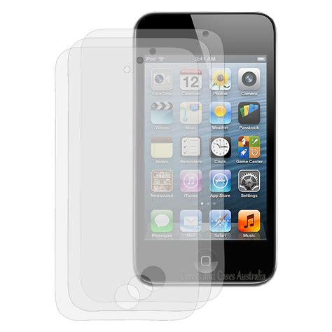 Ipod Touch 4 10 x clear lcd screen protector for apple ipod touch