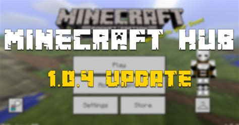 mcpe  update released minecraft blog minecraft hub