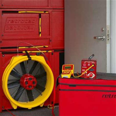 Blower Door Test Equipment by Blower Door Services Infrared New