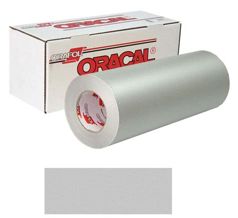 printable vinyl for outdoor and laminate film buy buy oracal 8510 etched 30in x 50yd 090 silver fin